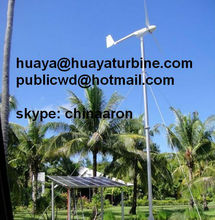 FD4-3kw wind power generator, speed regulated wind turbine, fixed pitch CE approved