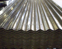 Hot Dipped Galvanized Corrugated Iron Sheet/22 gauge zinc coated steel roofing