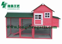 Fir wood wooden chicken house
