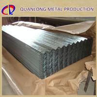 Z100 Galvanized Metal Profile Steel Roofing Sheet Weight Of GI Sheet