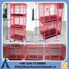 Cheap galvanized big metal dog kennel/black pen kennel dog park