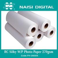 260gsm Professional Digital Silk Photo Paper for Minilab