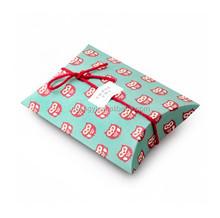 Dongguan EECA Owl logo paper printed pillow box