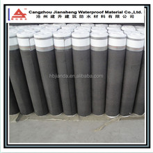 Big surface friction Roofing underlayment breathable asphalt waterproofing membrane for self-adhesive rolling