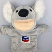 Plush koala hand puppet/EN71 ASTM