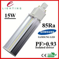 high PF high light effect g24 led 5050 smd inserted lights