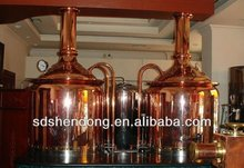 5BBl Stainless steel draft beer brewing equipment used in hotel, family and restaurant drinking