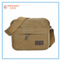 Online fashion khaki messenger bag canvas camping outdoor bags