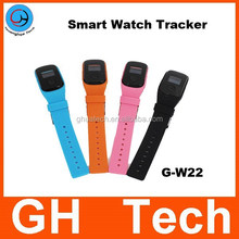 GH GPS Watch tracker kids G-W22 with SOS Button and Voice Monitor Led Digital for kids child anti-lost locator tracker