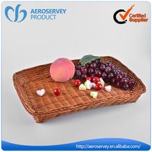 compagnia aerea vendita calda tessuto di vimini paglia cestino del pane