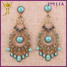 2015 good market unique design earrings for souvenir