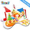 Early childhood educational toys kids baby Christmas keepsake books Safe non-toxic