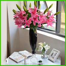 Low price new arrival artificial lily flower wholesale