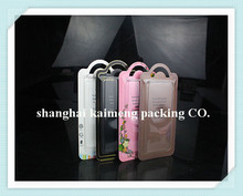 Cell phone case retail packaging/cell phone case paper packaging box/plastic phone box packaging