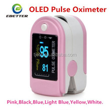 Fingertip Pulse Oximeter Blood Oxygen Monitor -CE&FDA Certified Six Color Choices