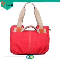 hot selling canvas shoulder designer bags online shopping for wholesale clothing