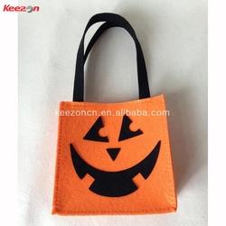 71104#fashionable felt handbag, felt tote bag,felt shopping bag for Holloween theme