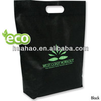 Heavy duty custom nonwoven die cut bag