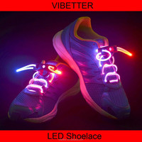 LS-A Wholesale light up led shoelace, oneline sell lighting shoelace cheap price