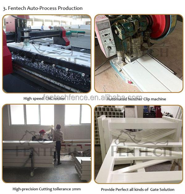 High quality fashion pvc/vinyl/plastic fence dog kennel factory price