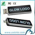 Venta caliente OTG LED 4GB usb stick de memoria flash