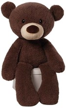 Adaptansuave de juguete! Jumbo oso de peluche, oso de peluche marrón