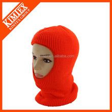 Winter custom knitted balaclava ski mask