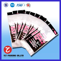 BOPP /OPP Flexile Packaging Plastic Bag with Self-adhesive Tape in shenzhen