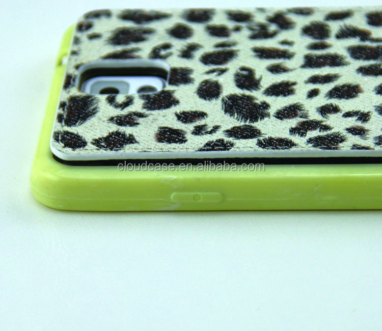 Leather Phone Case For Samsung NOTE 3 Case Leopard pattern