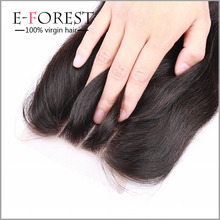 Malaysian Straight Lace Closure 7A Bleached Knot Free Middle 3 Part Closure Best Rosa 4*4 Malaysian Virgin Hair Lace Closure