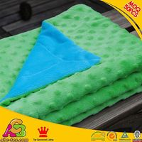 10PCS MOQ customized designs 2 layers Oeko Tex 100 Europe fashion baby blanket manufacturers china