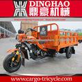 China Cargo tricycle/250cc motor de gas de tres ruedas motocicleta