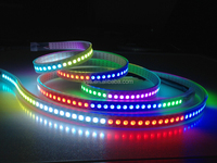 144leds ws2812b ws2811 5050 rgb led strip digital for decoration screen