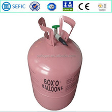 DOT AAA 4.1Kgs Low pressure Disposable Helium Gas Cylinder