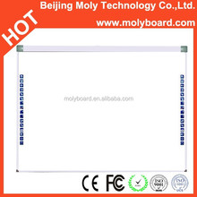 Aluminum Frame 82 inch size Dual touch Whiteboard Interactive Smartboard