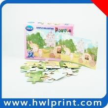 Custom printed puzzle cube