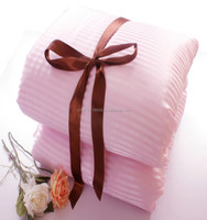 Warm Winter quilt, Satin Stripe100% Natural Mulberry Silk Quilt/Comforter(Fill 2.5 kg)