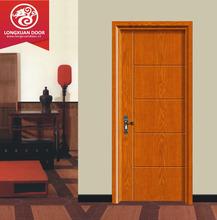 Commercial flush wood doors design for hotel, hotel room wood door