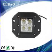 "Flush Mount 4.8"" 16W LED WORK LIGHT for 4x4 led off road Work Light Lamp Driving Fog Light Off Road 4x4 Truck Motorcycle Bike"