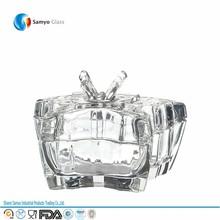 samyo fabricante de vidro metro jarra de vela em linha reta vela jar