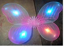 2015 led angel wing, light up fairy wing, kids butterfly wings