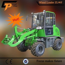 zl08 china 4x4 mini articulated front end mini loader