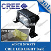 cheap cree 10w led light bar truck off-road 4x4 roof 20w cree led light bar