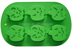 Silicone Halloween Pumpkin Cake Mold Cooky Mould Baking Tools