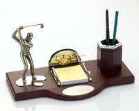 Global Corporate Gift Set Wood Desktop Decoration Gifts Souvenirs