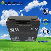 ISO CE ROHS UL Certificate deep cycle 12v 15ah ups battery