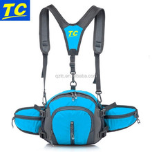 functional outdoor sports double shoulder chest backpack waist bag hydration hydration running belt pack