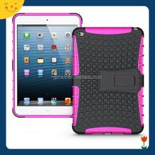 2015 China wholesale! custom table hard combo case cover for Apple ipad mini 4