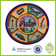 Professional New Products Cute children embroidered badges
