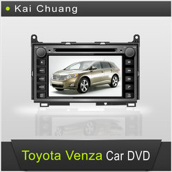 Cool Toyota Venza Radio DVD Car 2 din with 7inch Touch Screen